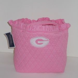 Georgia Bulldog Quilted Tote Bag